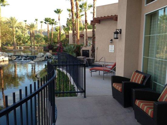 Hyatt Regency Indian Wells Resort & Spa: Patio