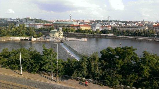 Praha Bike -  Bicycle Tours & Rentals : Prague from across Vltava