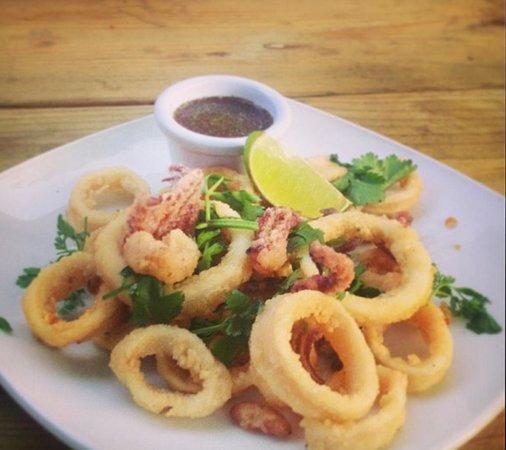 Calamari with Tamarind Sauce