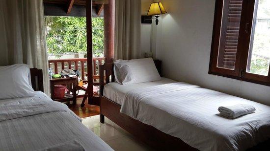 Mekong Moon Inn: direct to a balcony