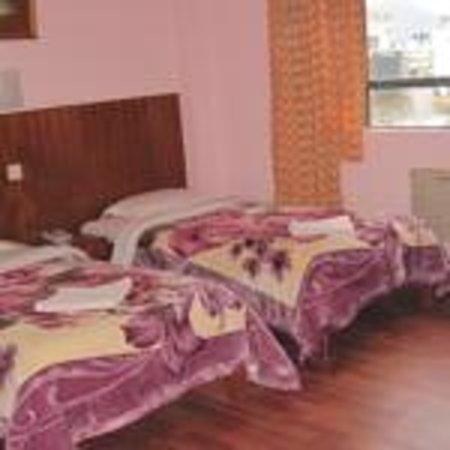 Tasi Dhargey Inn : Parquet floor room