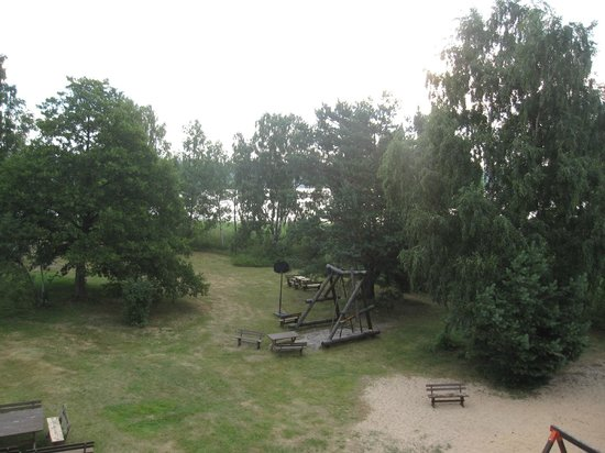 Lilaste, Letland: View from the hotel window