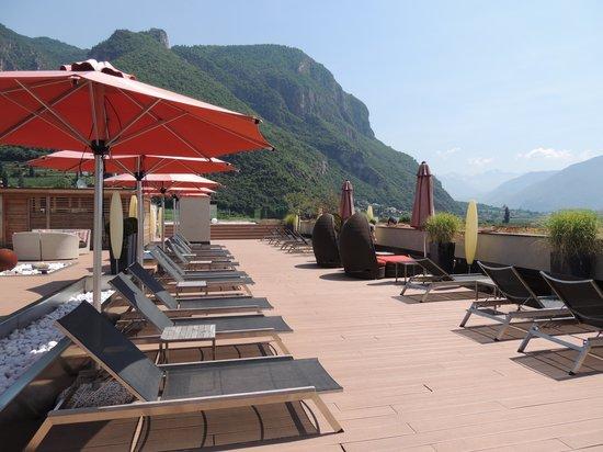 Napura Art & Design Hotel: Dachterrasse