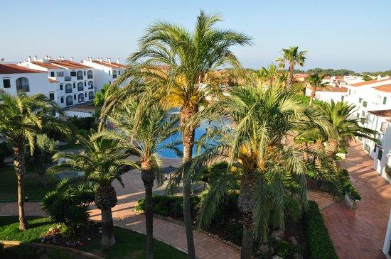 Apartamentos Vista Blanes: Pool view from 4th floor