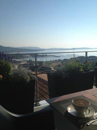 Best Western Hotel Alcyon : La vue panoramique lorsque vous prenez le petit déjeuner!
