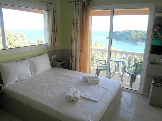 Kanali Village : Superior Double Room With Panoramic SeaView