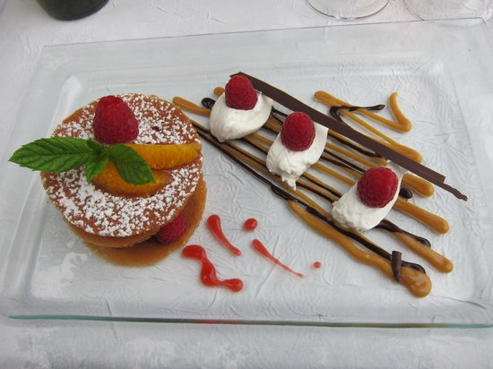 Le sansot : The dessert, must be tasted