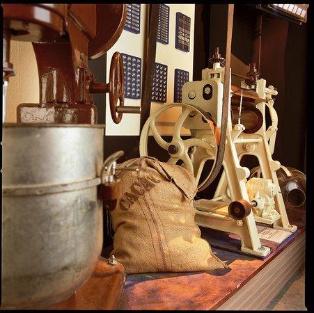 """Musée """"Les Secrets du Chocolat"""" : Partie fabrication"""