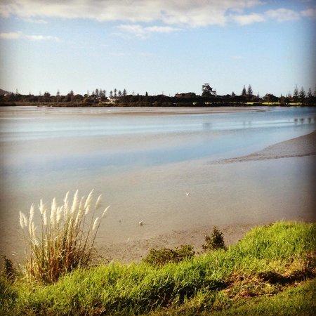 Orewa – Te Ara Tahuna Estuary Cycleway: Looking back up the the estuary