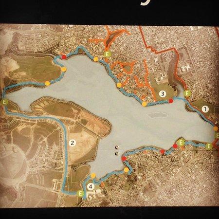 Orewa – Te Ara Tahuna Estuary Cycleway: Map of the track