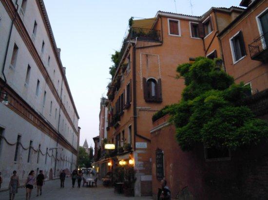 Hotel Agli Alboretti : vista del hotel