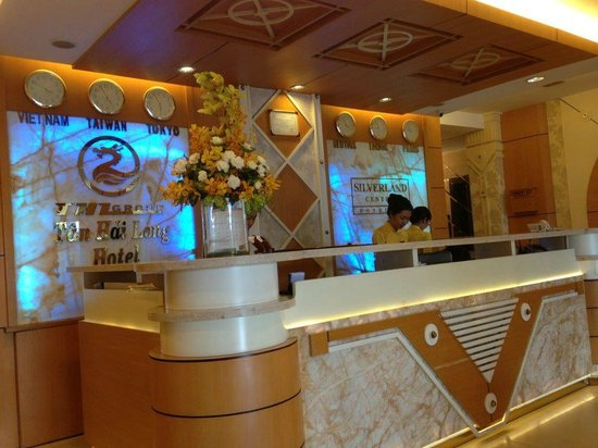 Silverland Central Hotel and Spa: Reception