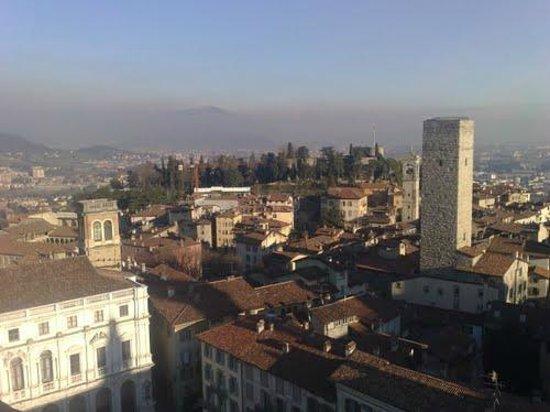 La Città Alta: panorama dalla torre