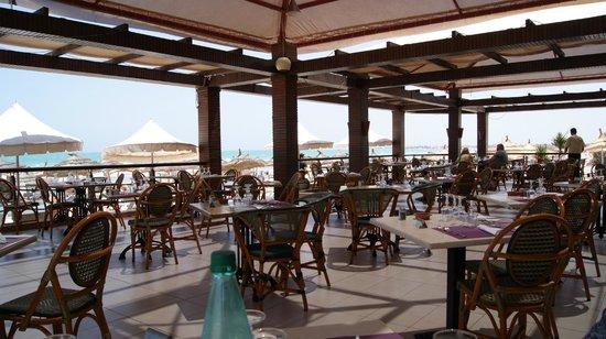 Djerba Plaza Hotel & Spa: Strandrestaurant