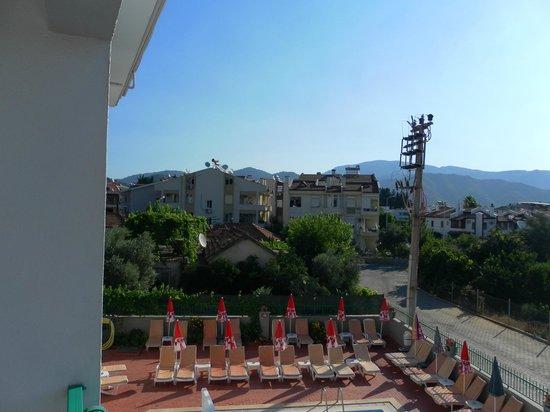 Seda Apartments: balcony view