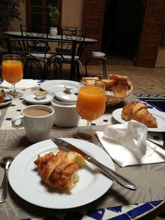 Riad Sakina: Breakfast