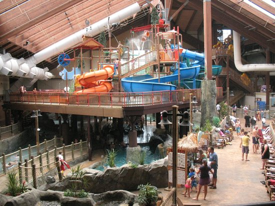 Six Flags Great Escape Lodge Amp Indoor Waterpark Lake