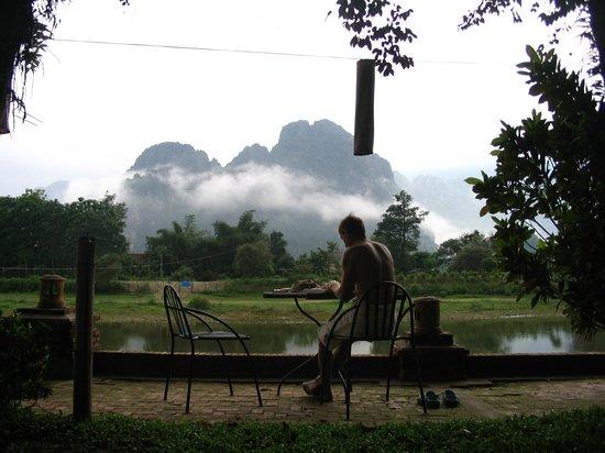Ban Sabai Riverside Bungalow: Early morning tranquility