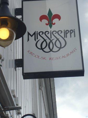 Restaurant Mississippi: Entrance