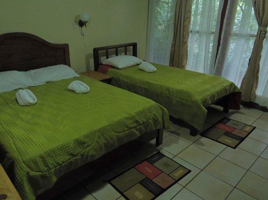 La Casona Lodge: our room