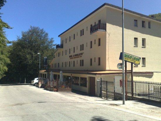 Hotel La Maielletta: Panoranica dell'Hotel