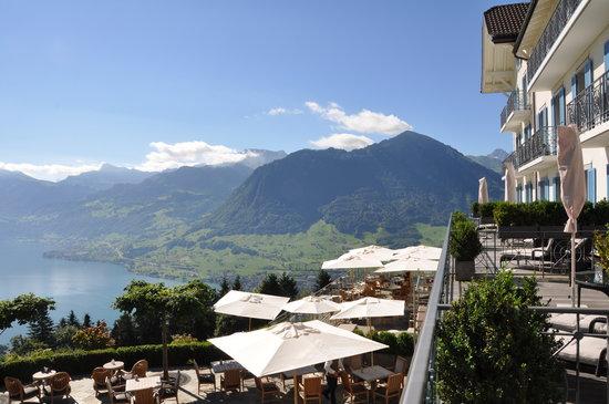Hotel Villa Honegg: la terrasse