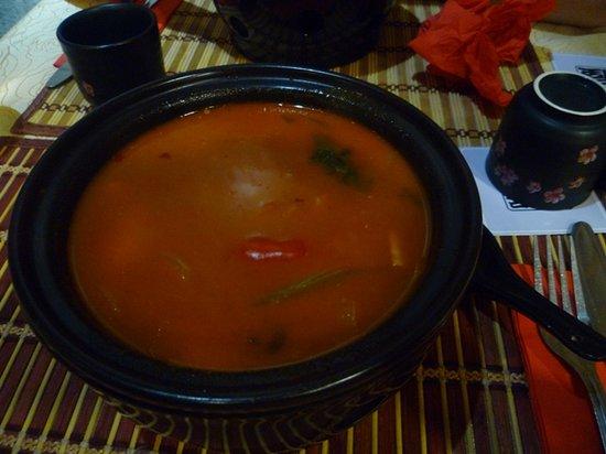 Nagoya: soupe hot spicy
