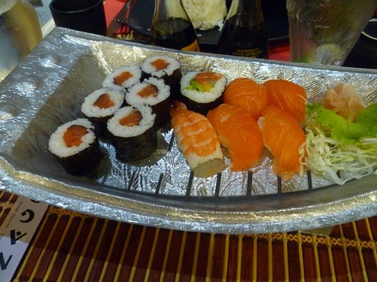 Nagoya: sushis