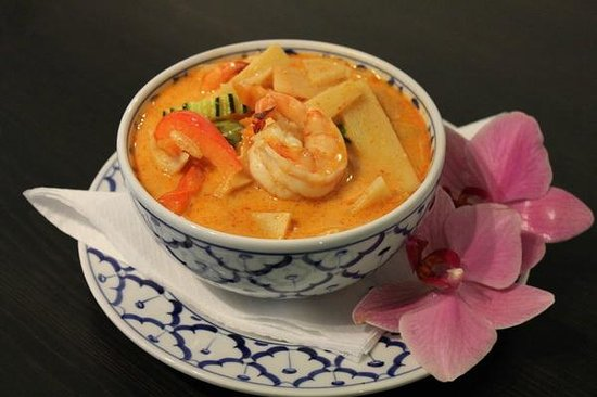 Angelas Thai Restaurang: Tom	Kha Goon