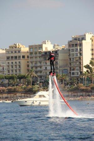 Flyboard Malta: Fly board
