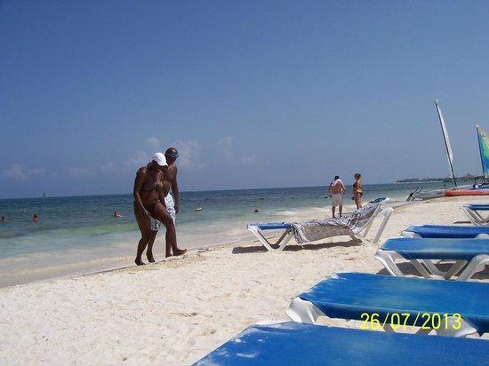 Ocean Maya Royale: lovely beach