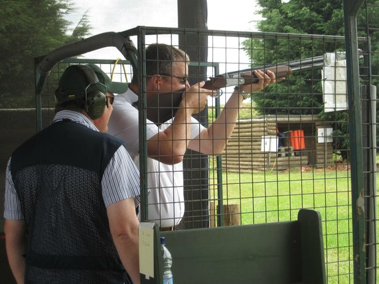 Adventure Sports (Warwickshire) Ltd.: Afternoon at Clay Pigeon Shooting - July 2013