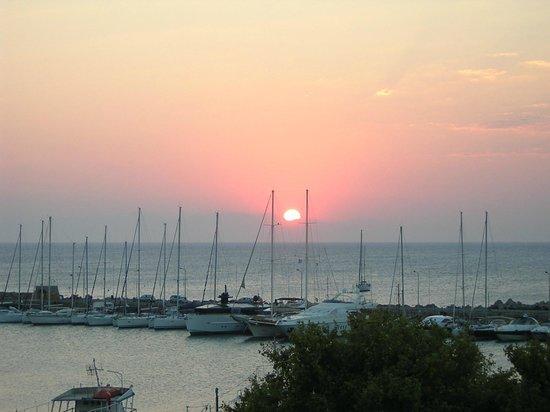 Hermes: Sunrise from balcony
