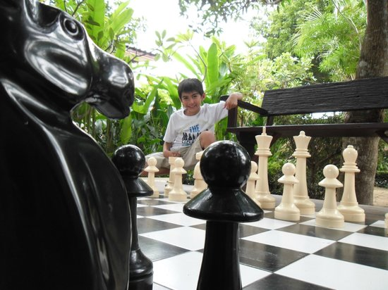 Villa Wanida Garden Resort : Outdoor Chess
