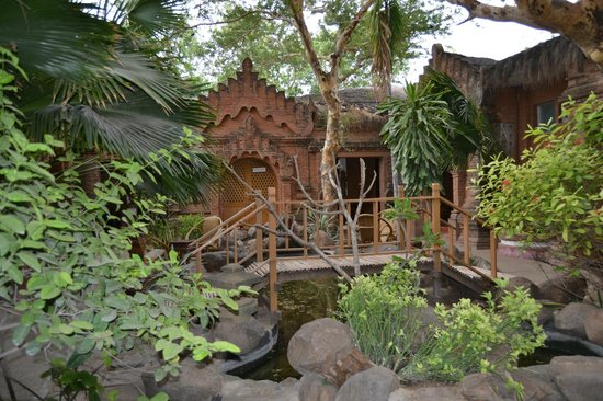 Kaday Aung Hotel: Dentro del hotel