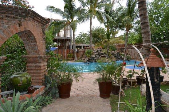 Kaday Aung Hotel: Zonas del hotel