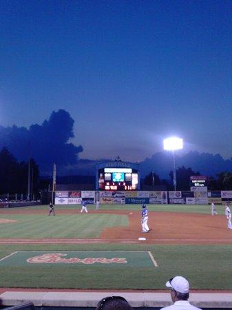 AT&T Field : Field after dark