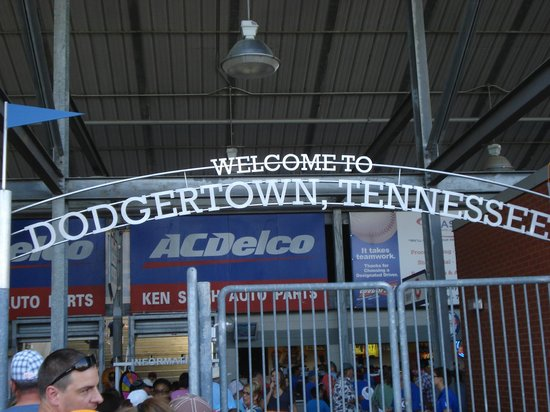 AT&T Field : Welcome to Dodgertown