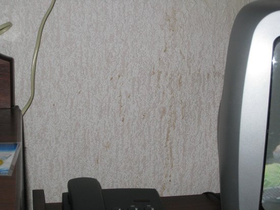 Bay Norbreck Hotel: stains on the wall