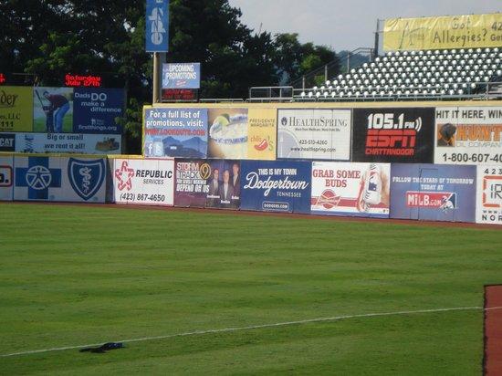 AT&T Field : Right Center Field Wall