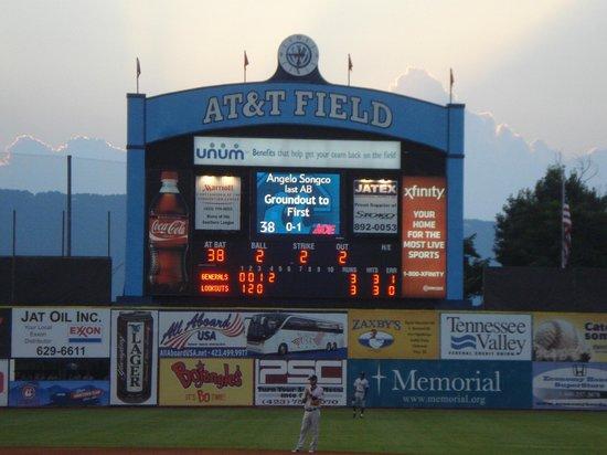 AT&T Field : Scoreboard