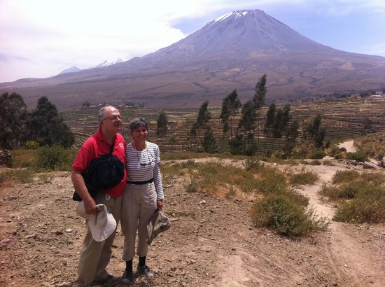 Misti Volcano of Arequipa Region - Picture of Peru Adventure Tours ...