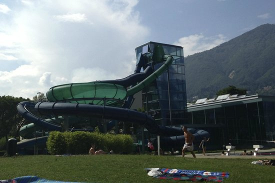Lido Locarno Water Slides