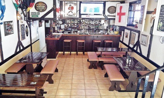 Pickwick's Tavern: A cool interior in which to chill out and relax.