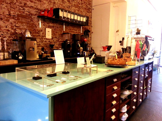 Photo of Cafe KOKO Coffee & Design at Oudezijds Achterburgwal 145, Amsterdam 1012 DG, Netherlands