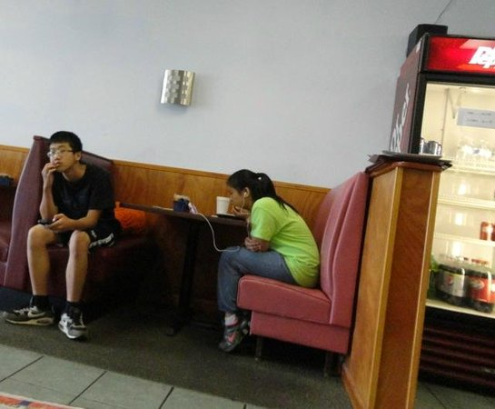 Wahmei Chinese Restaurant: The front staff is ready and unwilling to help you...
