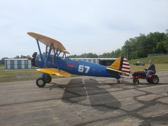 Klein Biplane Rides