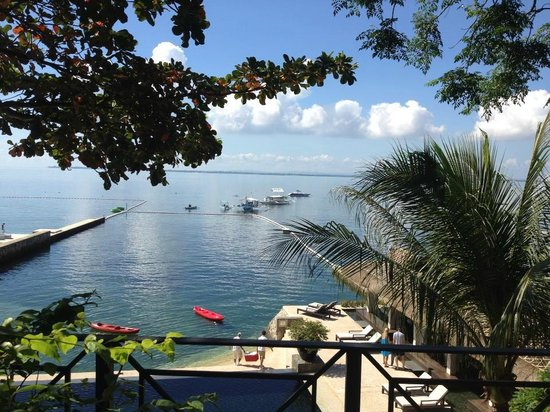 Abaca Boutique Resort: The view from our room