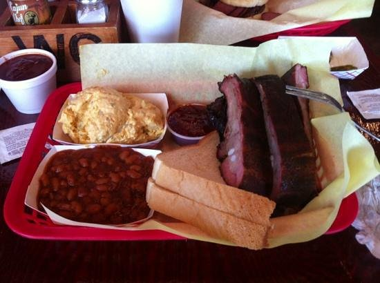 Woody Creek Bar B Q: delicioso!