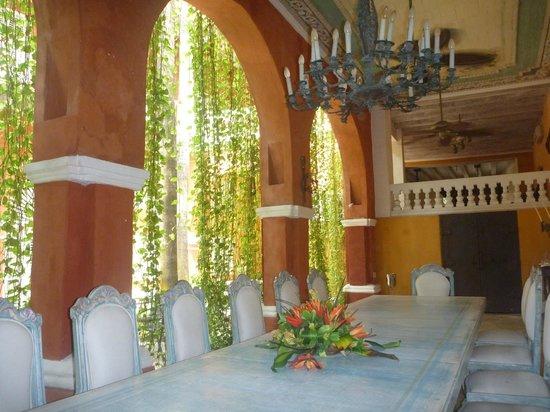 Casa Pestagua Hotel Boutique, Spa: Dining room